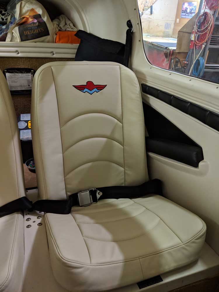 Custom Aircraft Upholstery in Kelso, WA   Airplane Interior