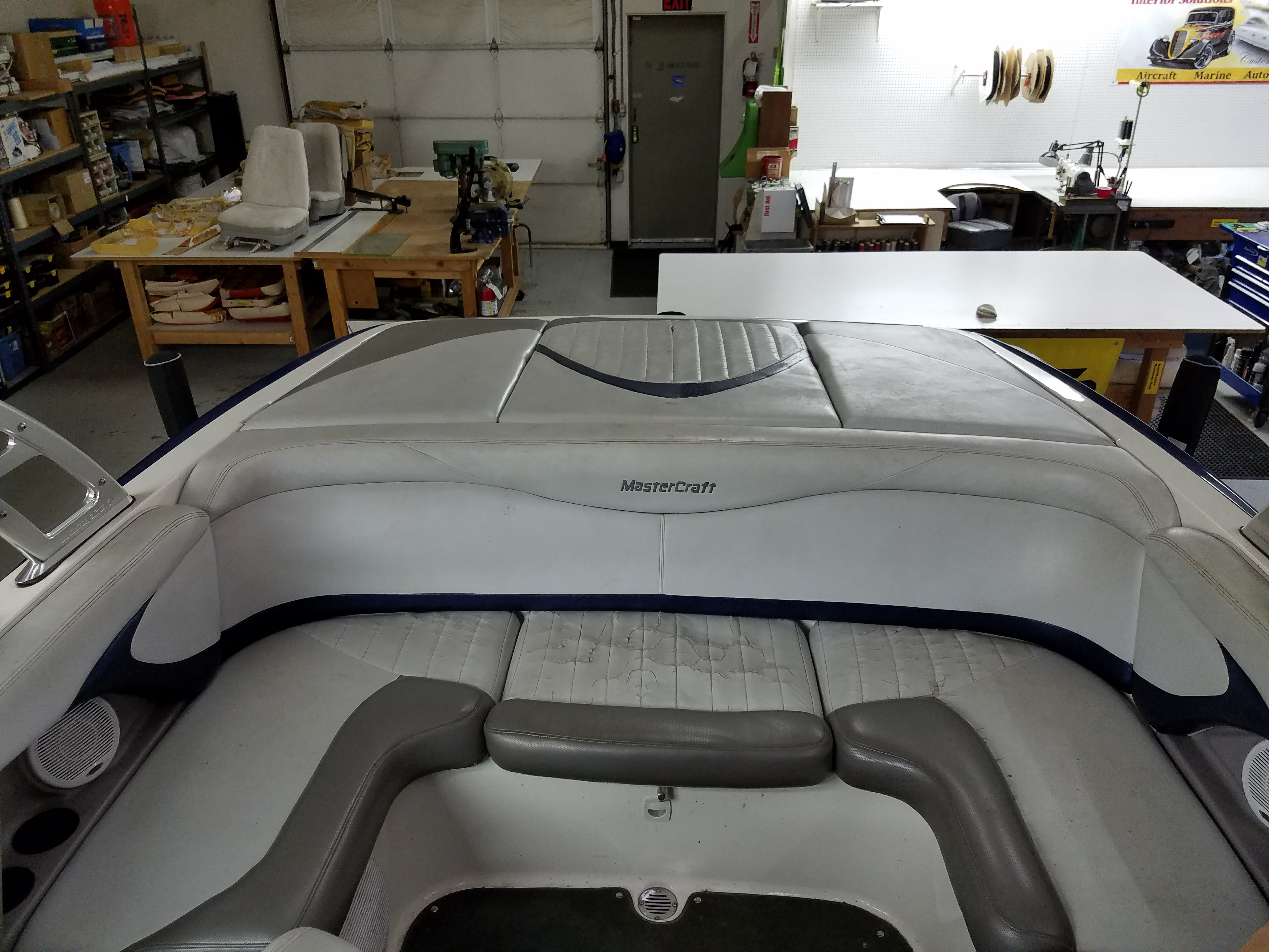 Custom Boat & Marine Upholstery and Interior in Kelso, WA
