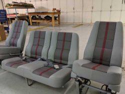 aircraft seats front